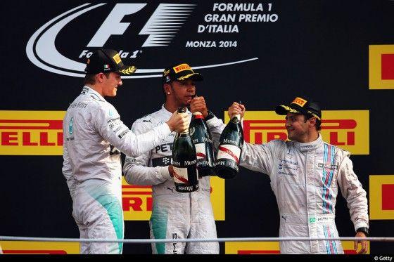Lewis Hamilton roi du temple de la vitesse. C'est une phrase qui résume rapidement ce Grand Prix d'Italie sans grande surprise.