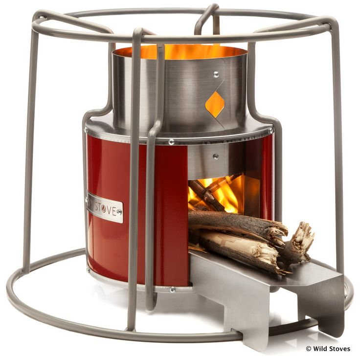 EzyStove | Wood-fuelled Camp Cooking. Beautiful design meets outstanding functionality in this high-performance wood-fuelled portable rocket stove.