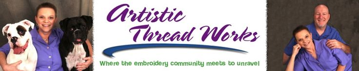 Artistic ThreadWorks Machine Embroidery lot of information about embroidery