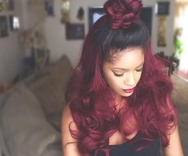 cute hair weave styles 190 best images about hairstyles on 4118 | d076525e2ee457b3513b0e42b18dd896 red weave hairstyles cute hairstyles