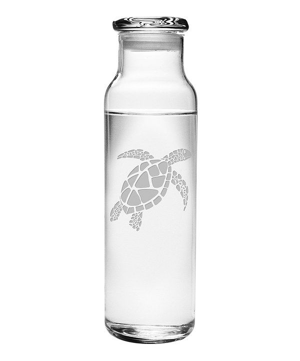Look at this Sea Turtle 24-Oz. Water Bottle & Lid on #zulily today!