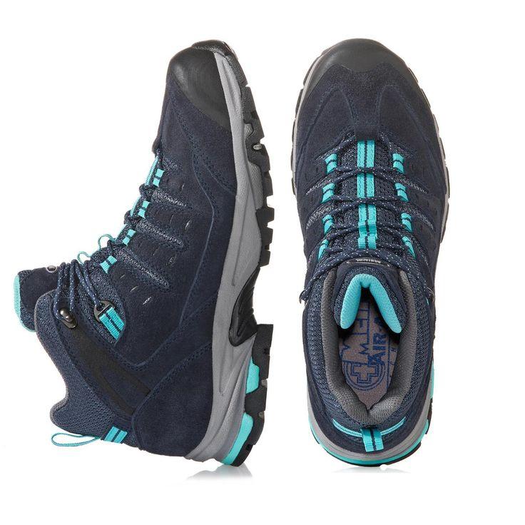 Bequemlichkeit, Komfort und eine tolle Optik - dieser Wanderschuh vereint alles! Als Obermaterial wurde Velours- und Nubukleder mit Mesh verwendet. GORE-TEX® Membrane machen den Schuh wasserdicht. Das AIR-ACTIVE®-Fußbett erweist sich beim Tragen als besonders angenehm. Durch die druckdämpfende Zwischensohle wird ein hoher Tragekomfort hervorgerufen. Abgerundet wird der Schuh durch eine kräftige Profilsohle mit hochgezogener Spitze und Weichtrittkeil. Meindl Klassifizierung A/B. Damenmode...