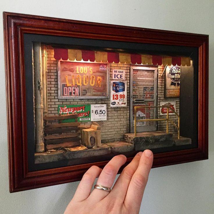 2017, Miniature roombox ♡ ♡ By Ryan Thomas M