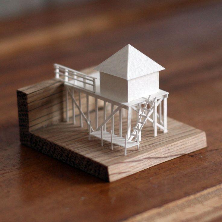 Bien connu Les 25 meilleures idées de la catégorie Maquettes architecture sur  JR61