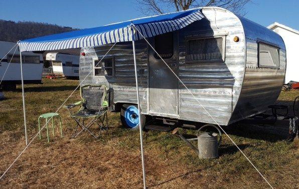 1959 Fan Camper For Sale