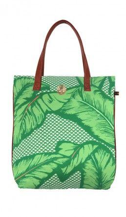 Kula shopper - Banana leaf