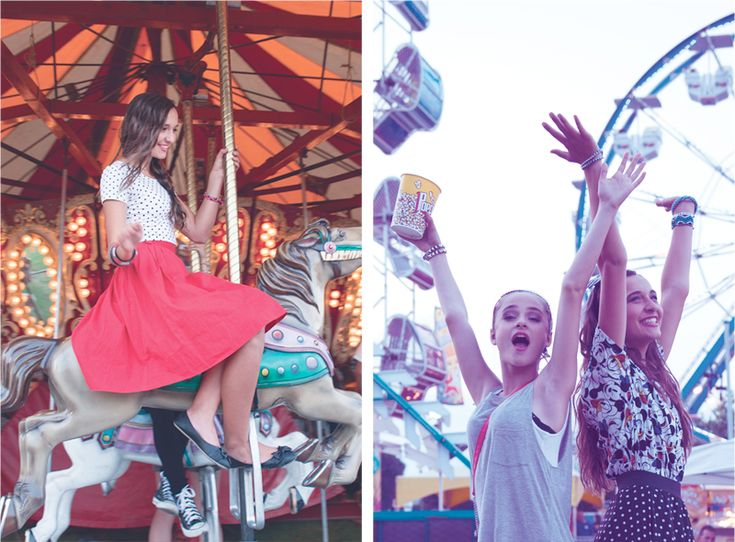 Say hello to the girl with a TRENDIY bracelet, and get sent to a fun fair.