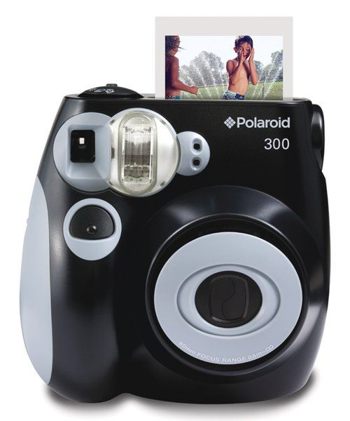 Look at this Black Polaroid 300 Analog Instant Camera on #zulily today!