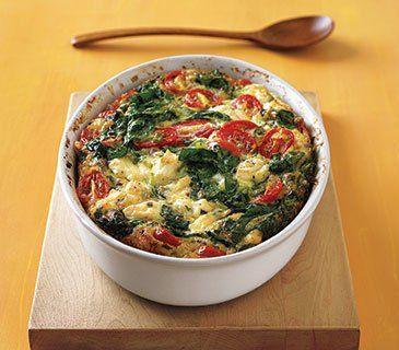 Greek Frittata - 15 Low Carb Breakfast Ideas