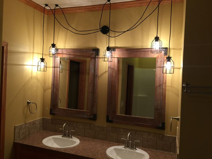 Bathroom Swag Lights Design Ideas