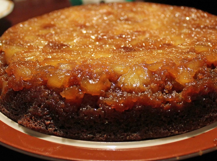 Gingerbread Pineapple Upsidedown Cake  I want a bite... NOW!! ;))