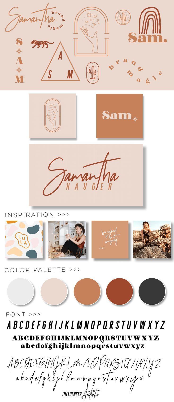 Design Portfolio Samantha Hauger Logo Design Color Palette Colorful Logo Design Portfolio Design