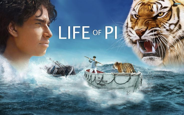 """Life of Pi (the book)    Life of Pi is a great adventure book. If you love survival, close-to-death experiences, and 450-pound bengal tigers with mixed-up human names, this is the book for you! There are sad things, sure, but the book is mainly about a boat-crash that leads to one young man loosing his parents and most of his family otherwise. Not only has he lost so much, but is sitting on a boat thinking """"this can't get any worse."""" And that is when the tiger comes in."""