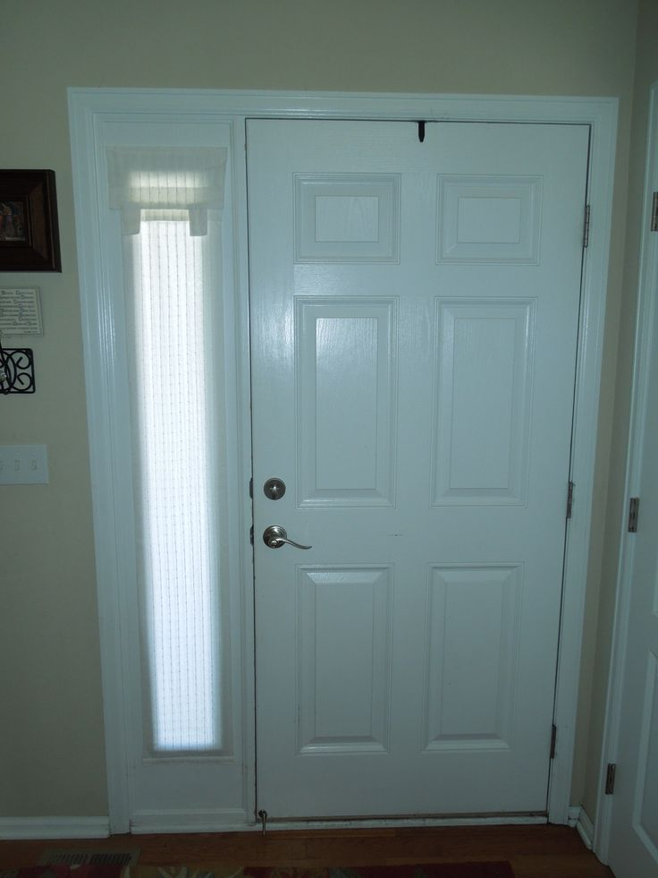 Keep your privacy and have great light control with a dani for Side door window coverings