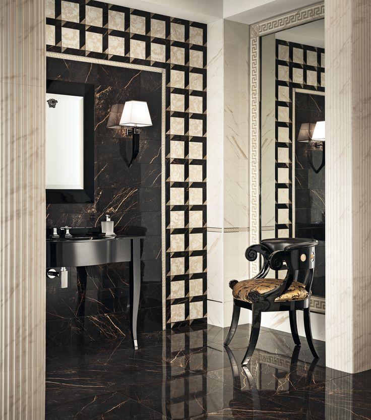 62 Best Suppliers: Versace. Interior Design Ideas. Tiles
