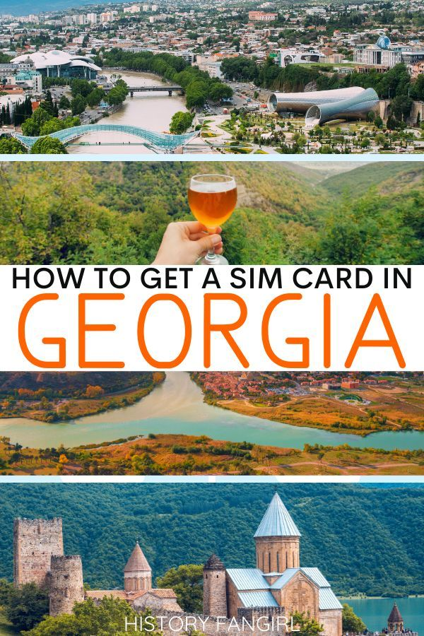 How To Buy A Georgia Sim Card During Your Adventure In The