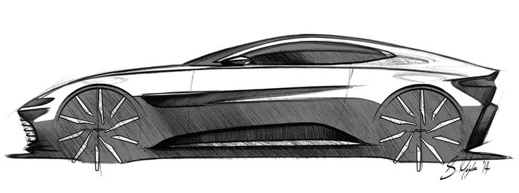 Gashetka | Transportation Design | 2014 | Aston Martin DB10 | Design by Sam Holgate...