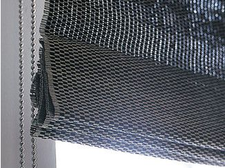 Sheer paper yarn roman blind FOLDING BLIND WITH CHAIN - Woodnotes
