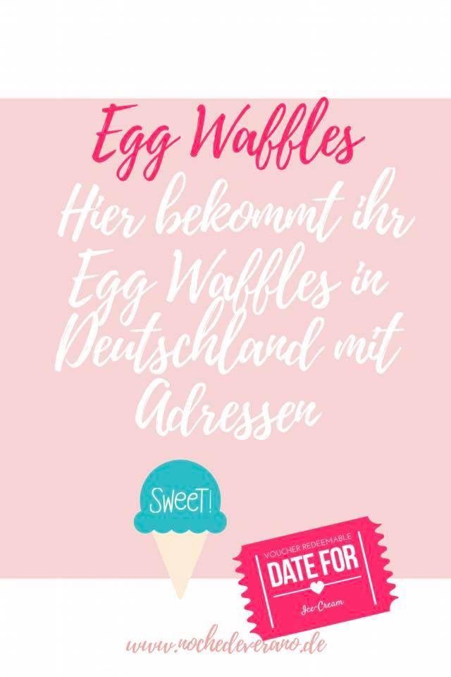 Egg Waffles/Bubble Waffles/ Egg Waffeln sind der Food Trend schlechthin. Doch wo gibt es die Egg Waffles in Deutschland? Finde Standorte und Adressen in meinem Blog Beitrag. #eggwaffles #bubblewaffles #eggwaffle #deutschland #food #foodinsider #deutschlandinsider #waffeln #frozenjoghurt #eis #foodtrend #waffeltrend