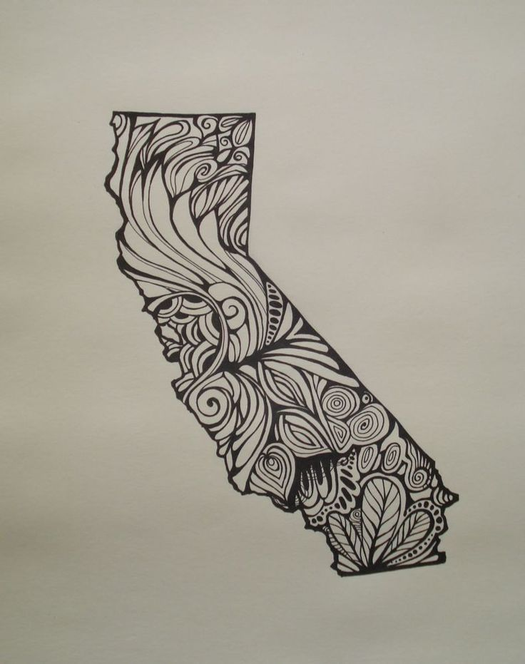 15 best line drawing images on pinterest line drawings for State outline tattoo
