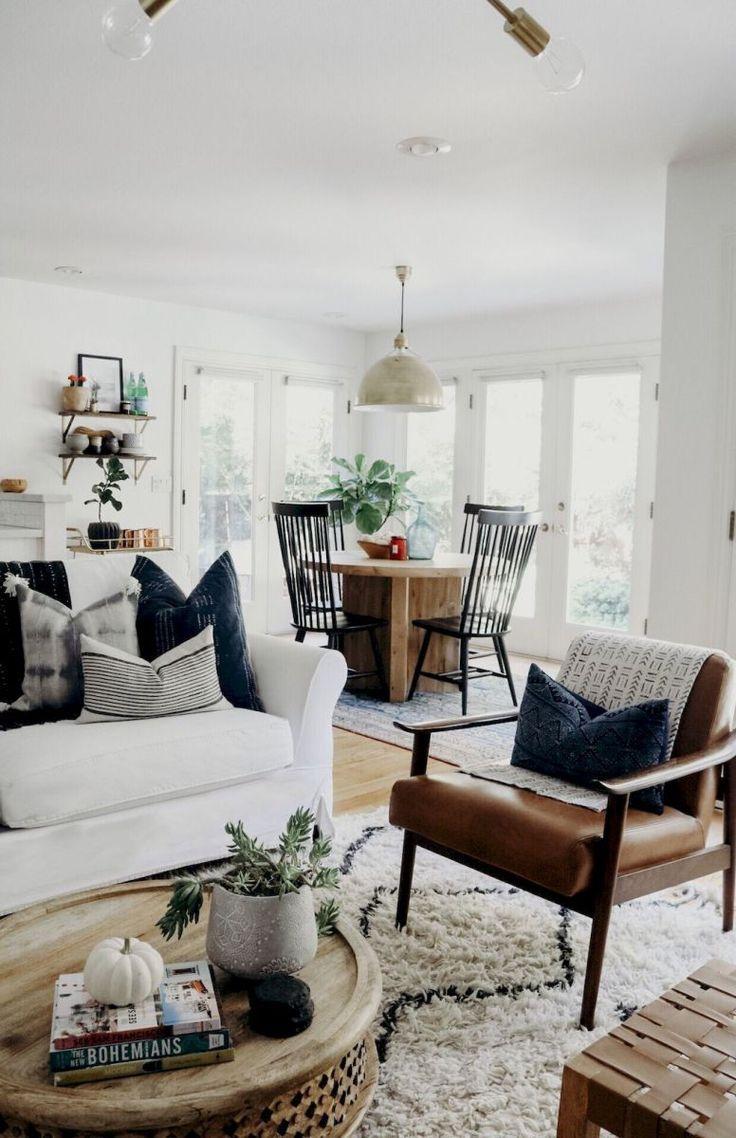 9 coole moderne Bauernhaus-Wohnzimmerdekor-Ideen (9), #bauernhaus