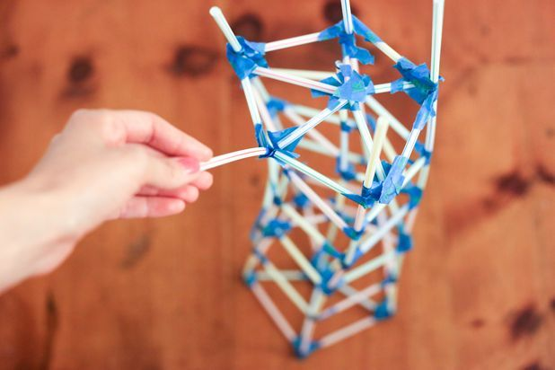 How to Make Strong Straw Towers   Photos, How to make and ...
