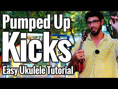 Pumped Up Kicks - Ukulele Tutorial Picking Fingerstyle Riff