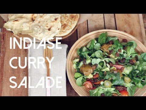 Video: Indiase curry salade | De Groene Meisjes