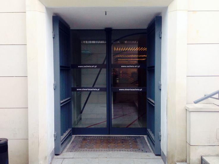 Zachęta National Gallery of Art - new entrence / Zachęta Narodowa Galeria Sztuki - nowe wejście