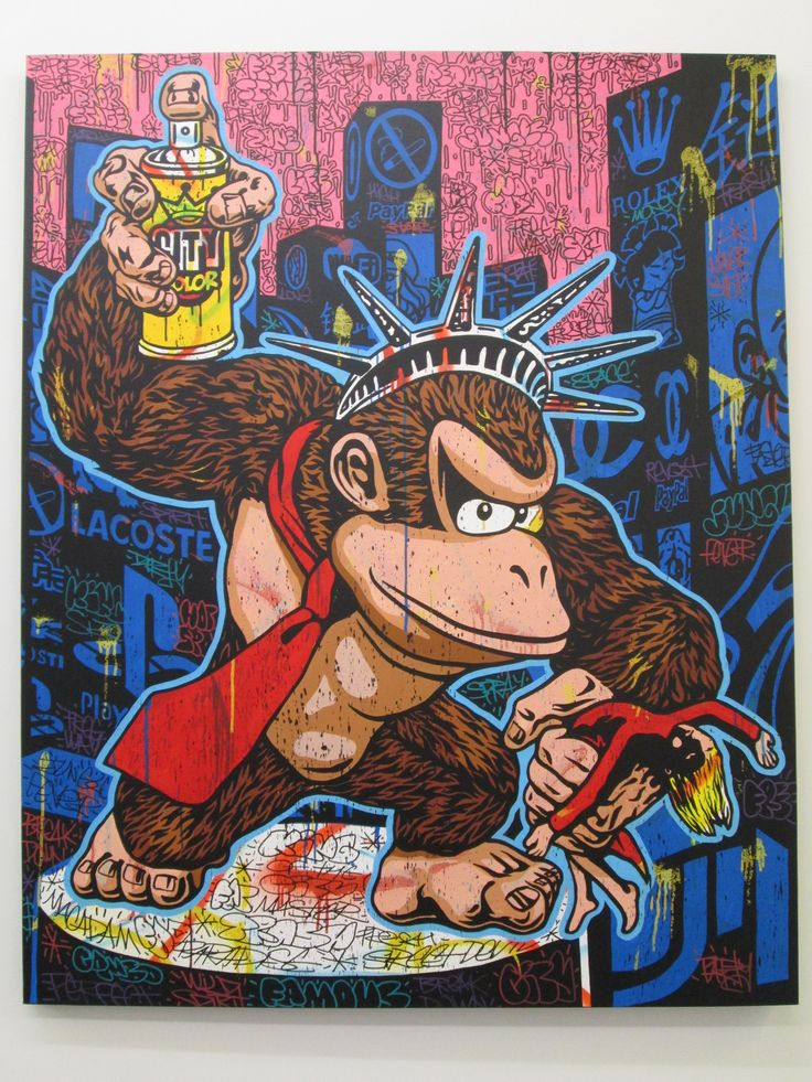 King-Kong King of the city - Speedy Graphito - Galerie Polaris