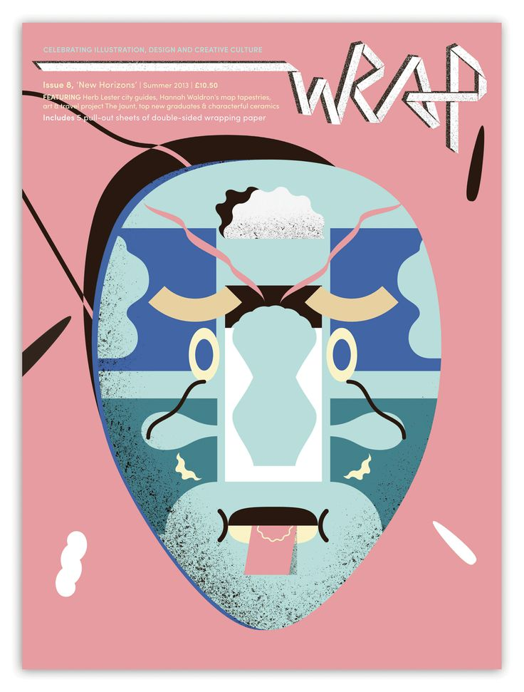 With cover artwork by Martin Nicolausson, Wrap issue 8 is a real corker
