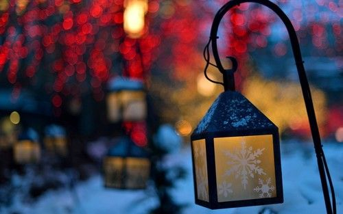 light, winter, and christmas resmi