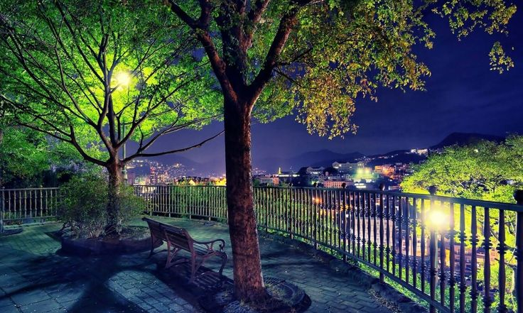 тихая ночь город