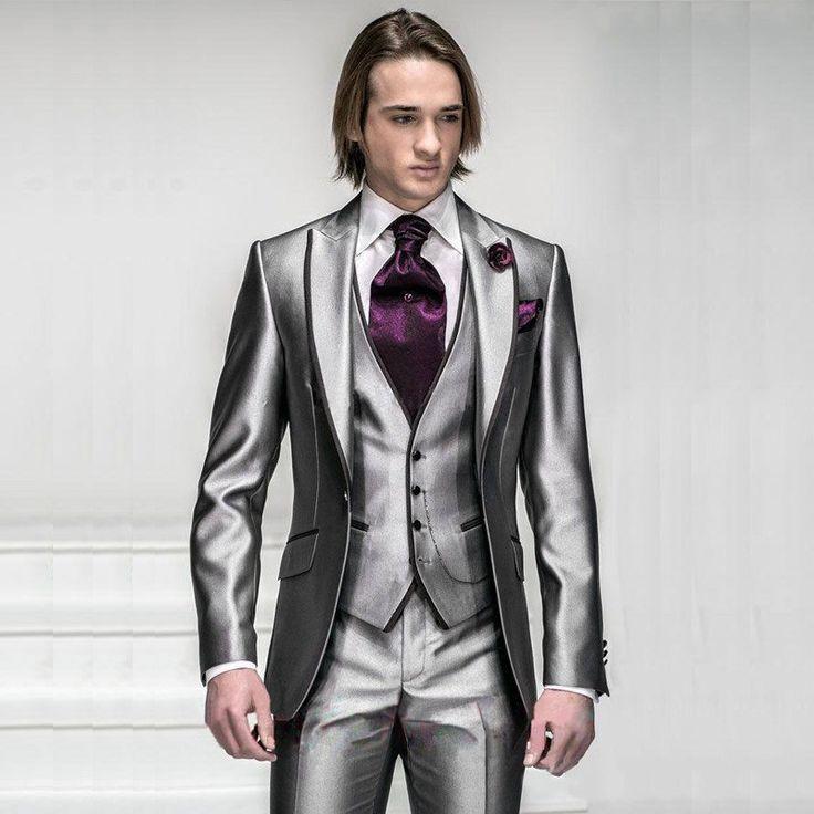 Terno Masculino Prata Harvey