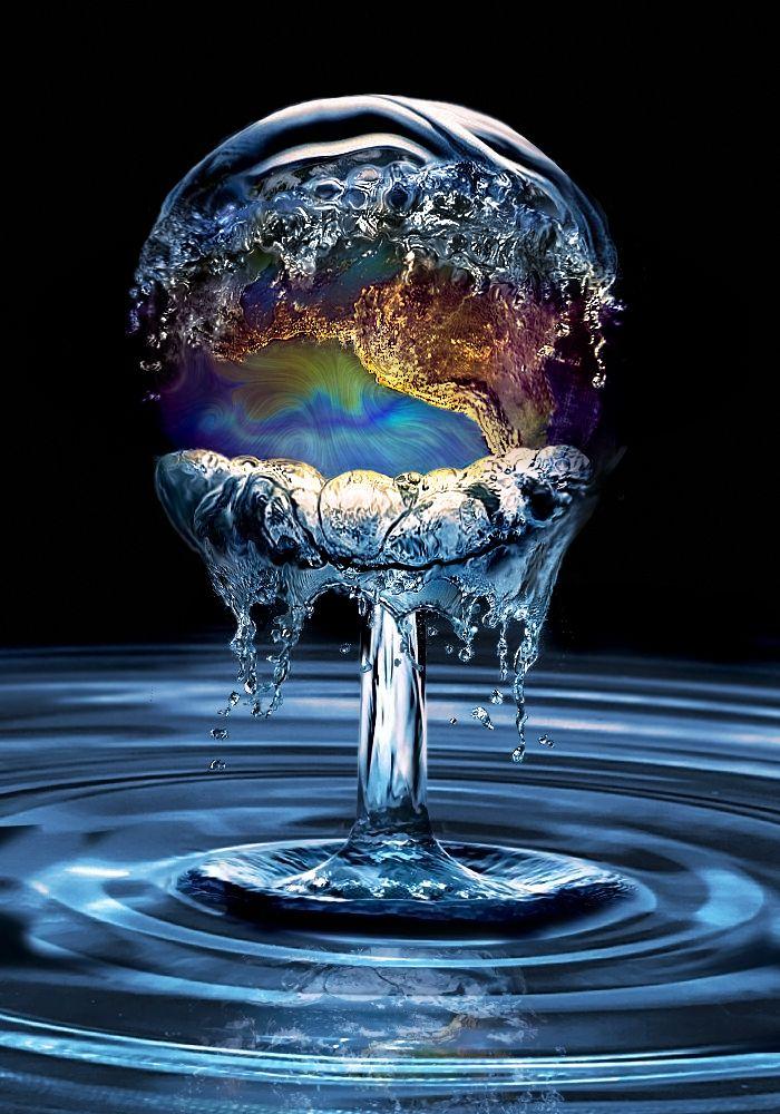 15 Examples of Water Art That's Simply Splashing! - My Modern Metropolis