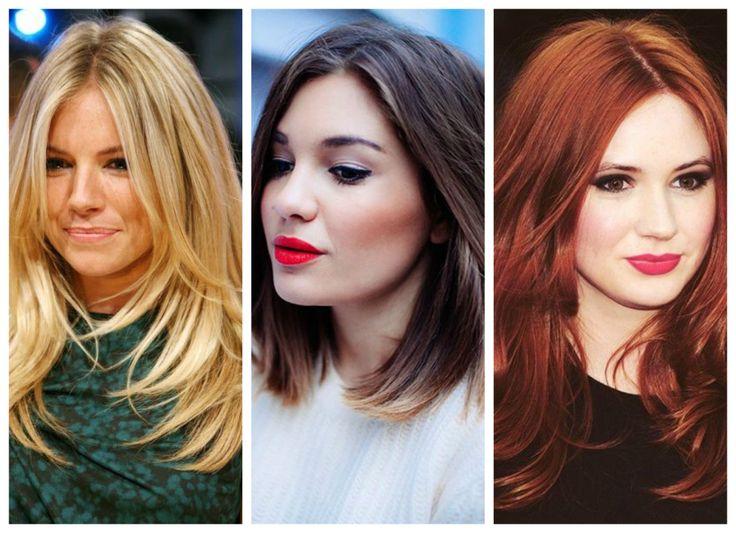 Find your own sense of style >>> http://bit.ly/1ENKONX Fall haircut, fall hair colour, blonde long hair, middle length brown hair, red long hair.