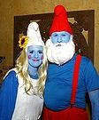 Smurfs Halloween Costume for Couples