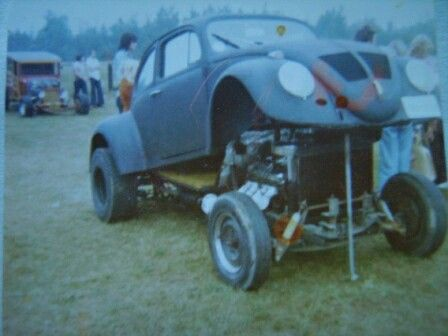 1963 VW Beetle with Chevy  427ci