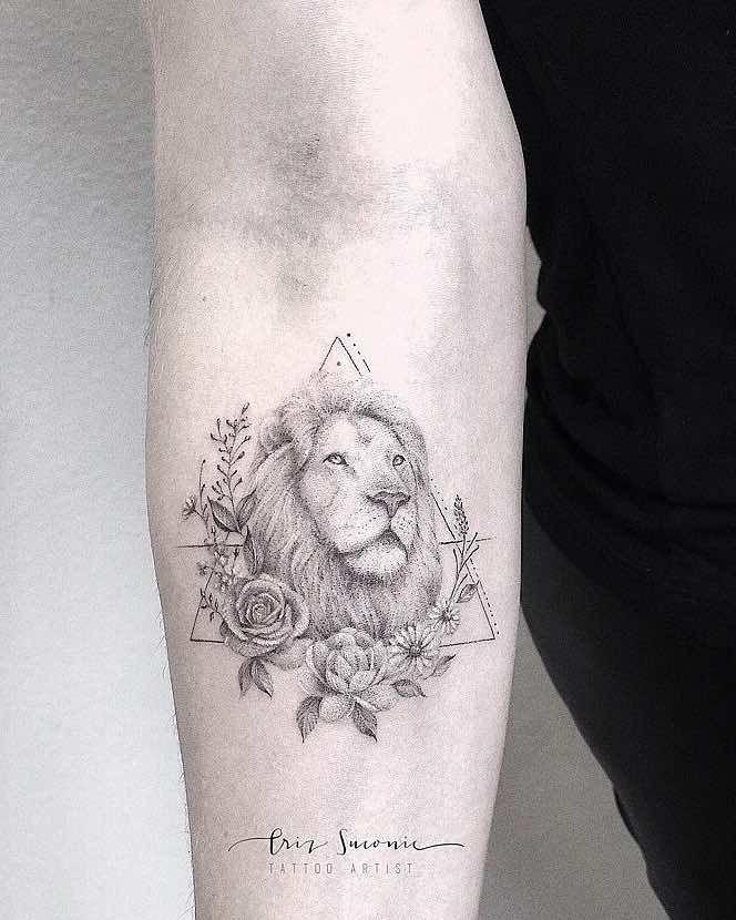 Lion Tattoo By Criz Suconic Leo Tattoo Leo Constellation Leo Tattoo For Women Back Tattoo Ideas Bull Simp Small Lion Tattoo For Women Tattoos Sleeve Tattoos