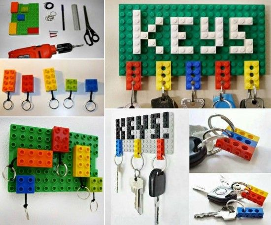Lego Key Holder Board Tutorial