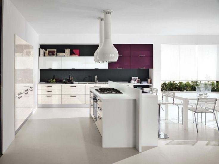 Weiße Küche In Hochglanz U2013 Ein Bezaubernder Blickfang