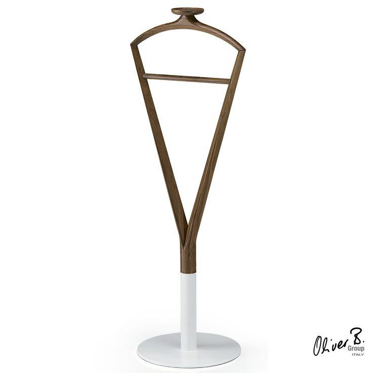 Galán Aloha de Oliver B. elegante y diseñado en Italia con la base de su estructura en metal.