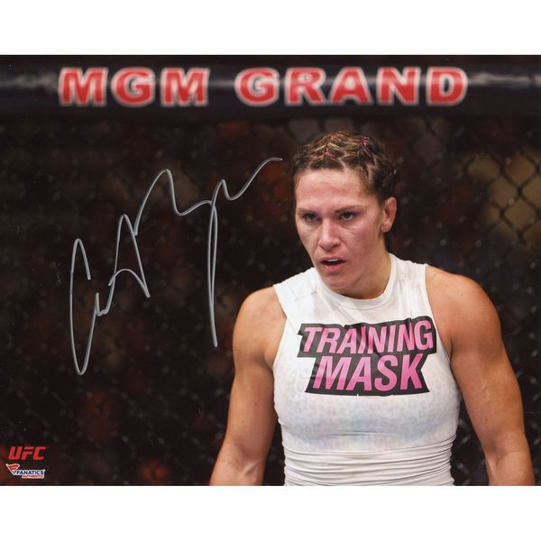 "Cat Zingano Ultimate Fighting Championship Fanatics Authentic Autographed 8"" x 10"" Standing Against Cage Photograph - $29.99"
