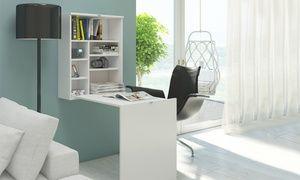 Ce bureau Malin, disponible en deux variantes (simple ou laqué) et en trois coloris, est fabriqué en plaque de 16 mm
