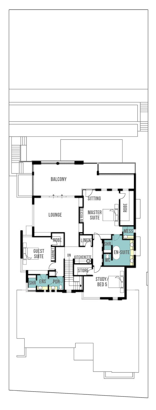 286 best house plans images on pinterest architecture house reef undercroft canal home design plans first floor by boyd design perth