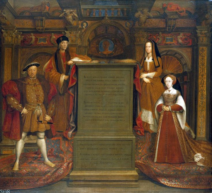 Copy of the Whitehall Mural, 1667. Remigius van Leemput, after Holbein. © The Royal Collection. Hampton Court Palace.