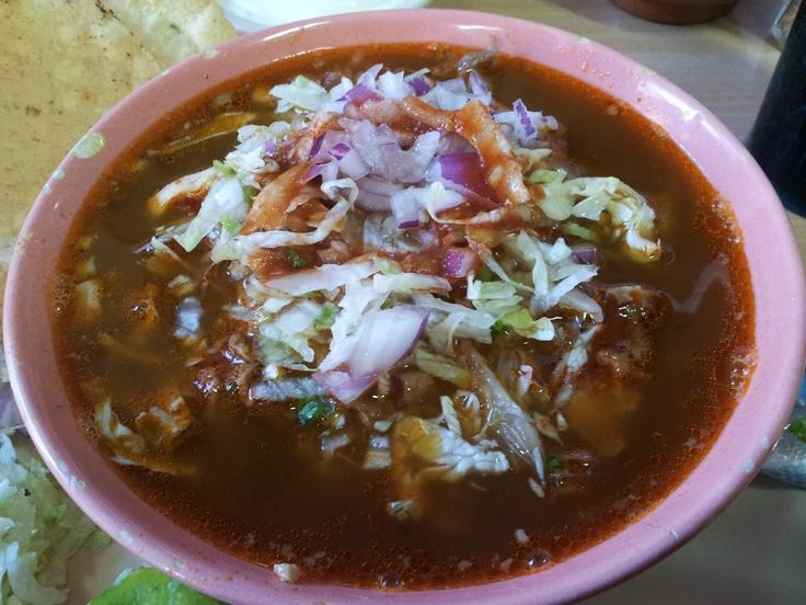 Platito de Pozole Mazatleco @como local #mazatlan @cenaduria Chayito