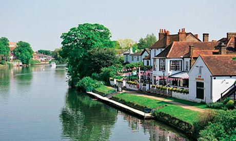 Let's move to Staines-upon-Thames, Surrey