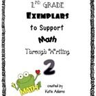 This is the second bundle of math Exemplars to support Second Grade Common Core. These 10 Exemplar math problems are open-ended to allow students t...