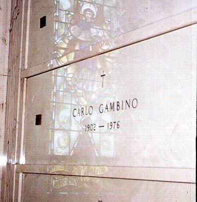 Carlo Gambino (1902 - 1976) Mafia boss, capo of the Gambino crime family headquartered in New York City